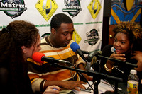 POP ARTIST ALEX YOUNG ON BATTLE OF THE SEXES RADIO WITH HOST MZSKEEN & J PRINCE @DA MATRIX STUDIO, 1/25/11