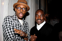 "ACTORS WOOD HARRIS & CLIFTON POWELL  AT THE ""JAZZ IN THE DIAMOND DISTRICT "" MOVIE PREMIERE @ MERKATO FIFTY FIVE 4/30/09@ MEKA"