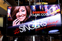 SAMSUNG EXPERIENCE SINGER LOUNGE WITH DORINDA CLARK-COLE @ THE TIME WARNER CENTER NYC 9/15/11