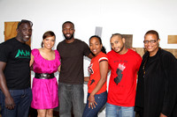 ACTOR JAMIE HECTOR & THE CAST OF THE WIRE HOST A FUNDRAISER FOR MOVING MOUNTAINS SPONSORED BY 1800 TEQUILA @ THE LOFT NYC 6/12/10